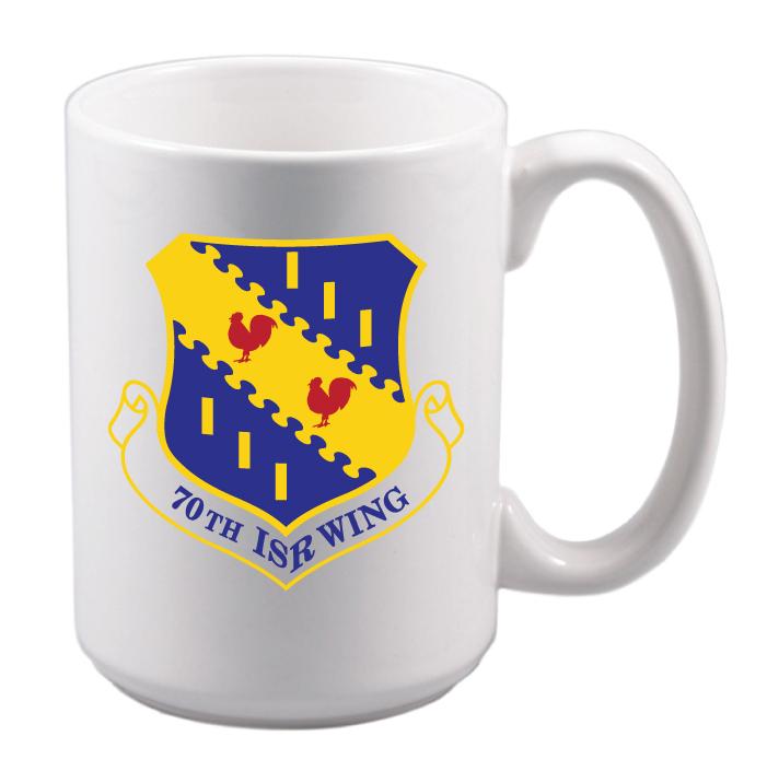 70th ISR Wing mug