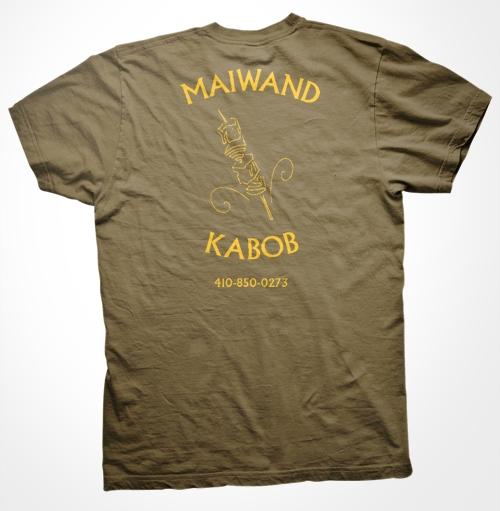 Maiwand Kabob back